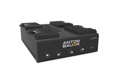 Anton/Bauer LP4 Quad Gold Mount Charger