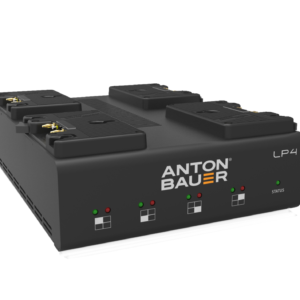 Anton/Bauer LP4 Quad Gold Mount Charger