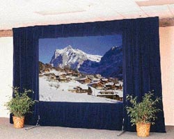 Dalite Fast-Fold Portable Screens
